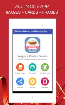 Birthday Wishes and Greeting Cards apk screenshot