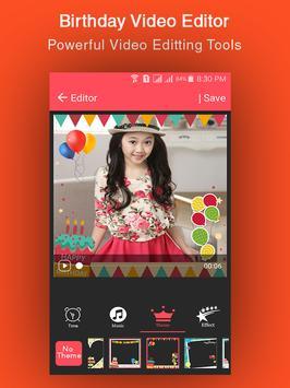 Birthday Video Maker screenshot 2