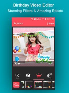 Birthday Video Maker screenshot 4