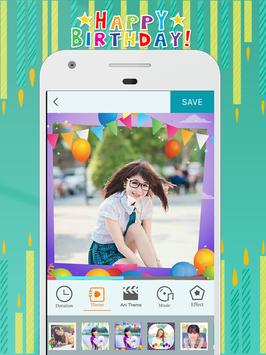 Happy Birthday Video Maker apk screenshot