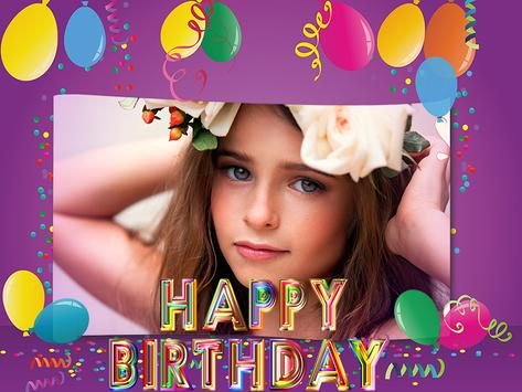 Birthday Photo Frames Maker screenshot 8
