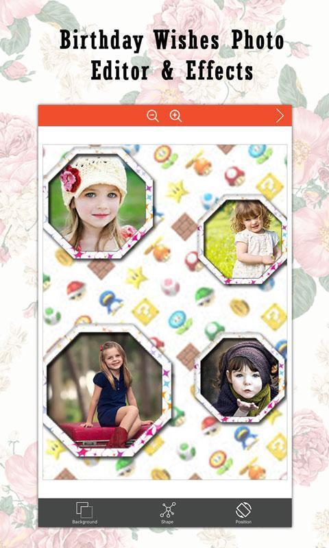 Birthday Wishes Photo Editor Frame Studio Effects Screenshot 16