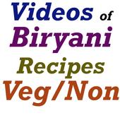 Biryani Recipes Videos icon