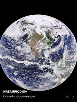 NASA EPIC Daily for Muzei apk screenshot