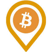 Bitcoin & Ethereum Map, Converter, Live Stat, News icon