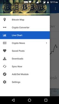 Bitcoin & Ethereum Map, Converter, Live Stat, News poster