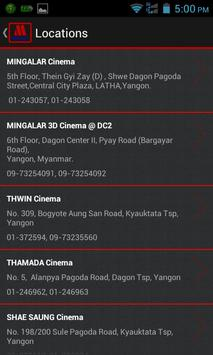 Mingalar Cinemas screenshot 3