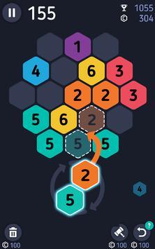 Make7! Hexa Puzzle poster