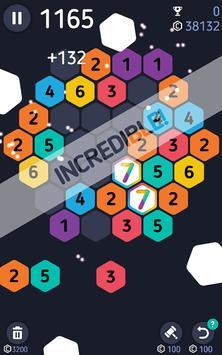 Make7! Hexa Puzzle apk screenshot
