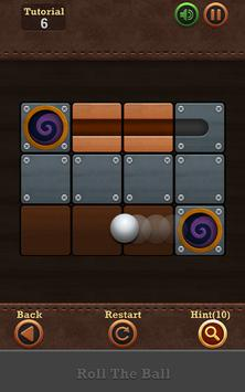 Roll the Ball®: slide puzzle 2 poster