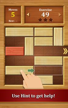 Move the Block : Slide Puzzle poster