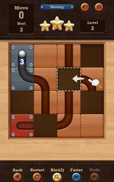Roll the Ball: slide puzzle captura de pantalla de la apk