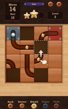 ロール ボール:スライド パズル apk スクリーンショット