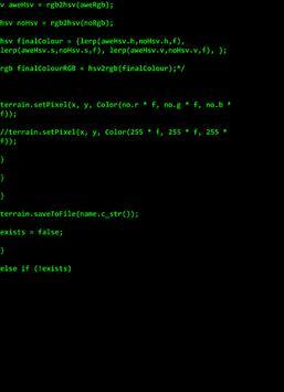 Hackertyper apk screenshot