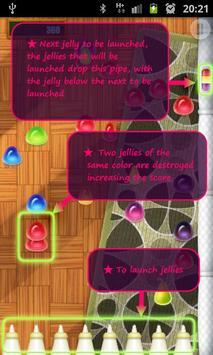 Jelly Storm Free apk screenshot