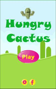Hungry Cactus poster