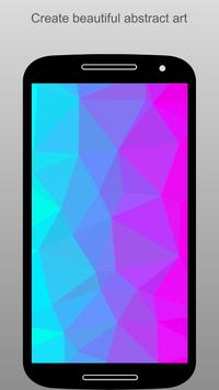PolyGen - Create Polygon Art poster