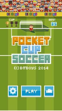 Pocket Cup Soccer poster