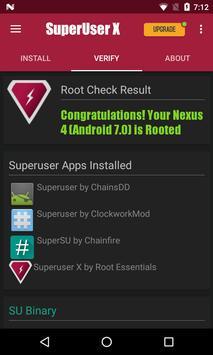 Superuser X スクリーンショット 3