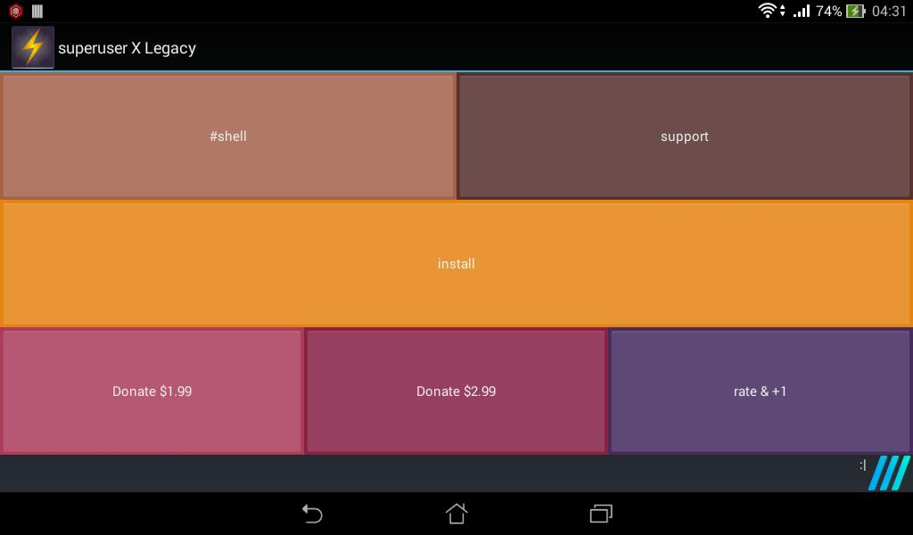 Superuser X for Android - APK Download