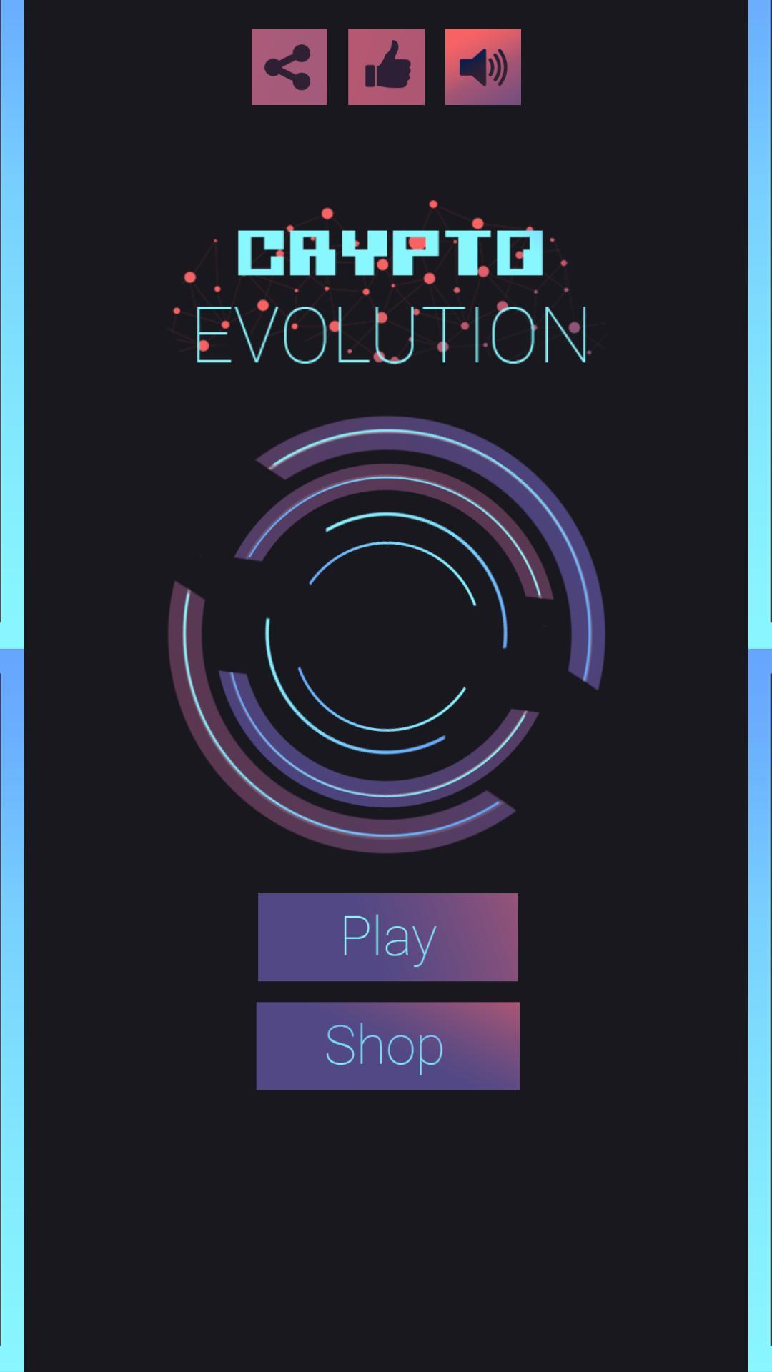 Crypto Evolution - Bitcoin Blockchain Hack Arcade para