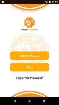 Bitcoin Titanium Wallet poster