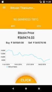 Bitcoin Titanium Wallet screenshot 1