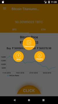 Bitcoin Titanium Wallet screenshot 2