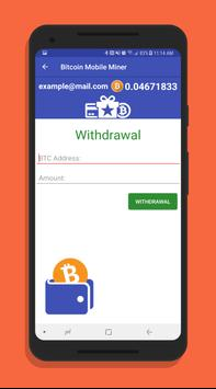 Bitcoin mobile miner for android apk download bitcoin mobile miner screenshot 2 ccuart Choice Image