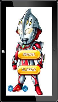 Super Ultraman Ginga Puzzle poster
