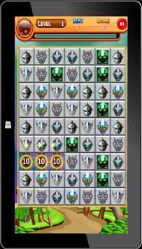 Super Ultraman Ginga Puzzle apk screenshot