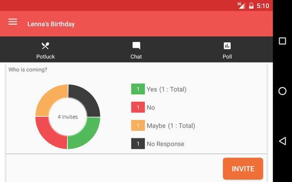 Twingle: Invitations & RSVP apk screenshot