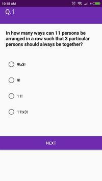Maths (Paperset 2) MCQ Quiz screenshot 2