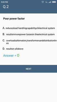 AC Fundamental Circuit & Circuit Theory MCQ Quiz screenshot 5