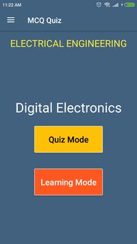 Digital Electronics (Electrical Engg.) MCQ Quiz poster