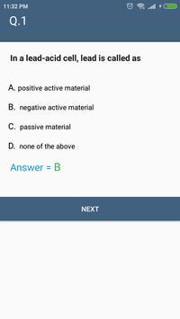Electrostatic (Electrical Engineering) MCQ Quiz screenshot 5