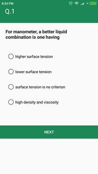 Fluid Mechanics (Mechanical Engineering) MCQ Quiz for Android - APK