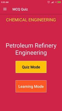 Petroleum Refinery Engineering poster