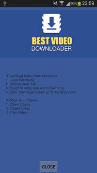 Video download for fb apk download free tools app for android video download for fb apk screenshot ccuart Gallery