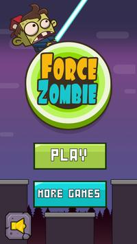 Force Zombie poster