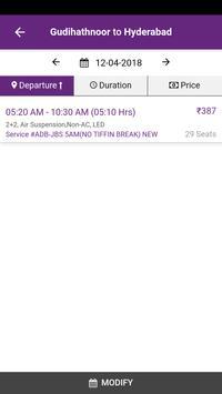 Vamshi Travels screenshot 1