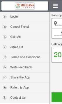 Meghana Travels apk screenshot