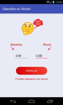 Gasolina ou Alcool screenshot 1