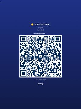 BitPay Checkout apk screenshot