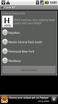 I Love NY Quiz screenshot 1