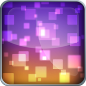 Neon Shapes Live-Wallpaper icon