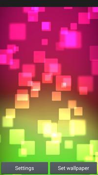 Neon Shapes Live-Wallpaper apk screenshot