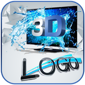 3D logo maker 2017 icon