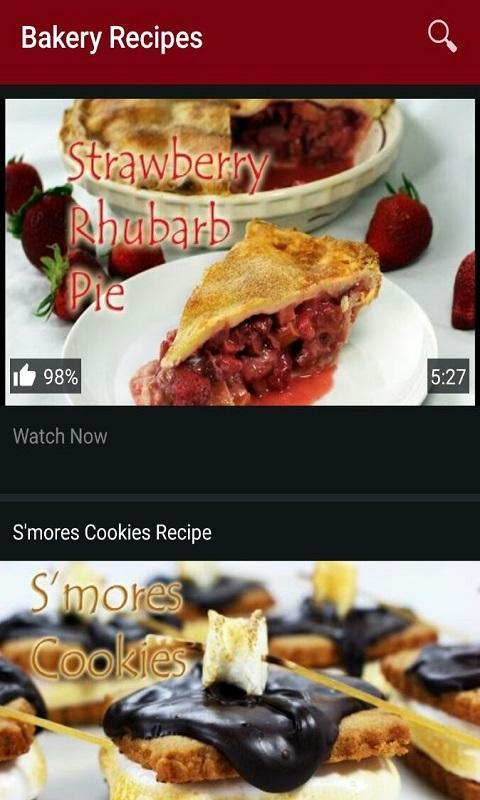 Baking recipe videos free apk download free food drink app for baking recipe videos free apk screenshot forumfinder