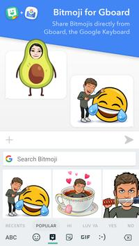 Bitmoji – Your Personal Emoji apk screenshot